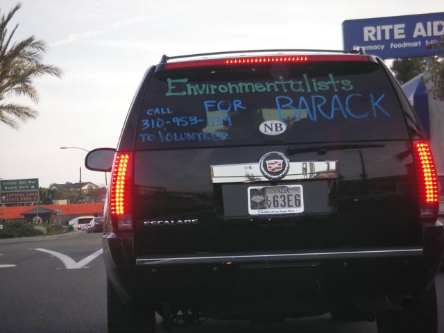 Environmentalists for Barack