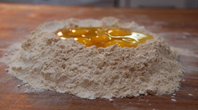Pasta Volcano